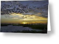 Sand N Sunset Greeting Card