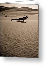 Sand Plank Greeting Card
