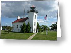 Sand Point Lighthouse Greeting Card