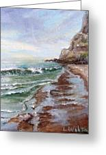 Reflecting Sands  Greeting Card