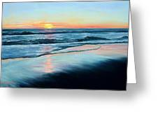 Sand Reflections Greeting Card