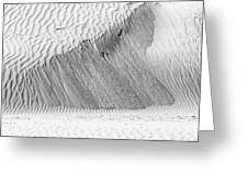 Sand Ripples Greeting Card