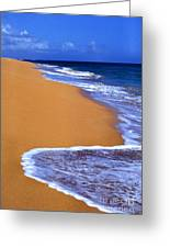 Sand Sea Sky Greeting Card