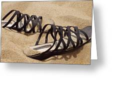 Sand Shoes I Greeting Card
