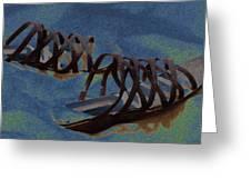 Sand Shoes II Greeting Card