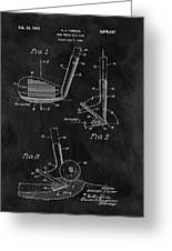 Sand Wedge Patent Greeting Card