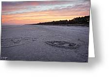 Sand Works Greeting Card