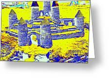 Sandcastle Dreams Greeting Card