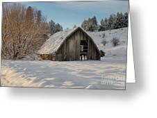 Sanders Barn Greeting Card