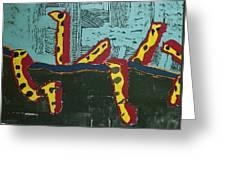 Sandia Cottonwood The Mantid Greeting Card