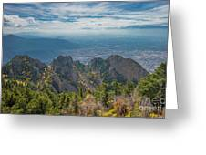 Sandia Crest In Fall Greeting Card