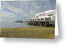 Sandown Pier Greeting Card