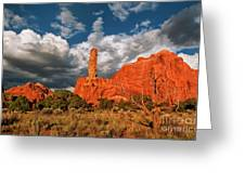 Sandpipe Formations Kodachrome Basin State Park Utah Greeting Card