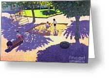 Sandpit Greeting Card
