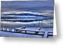 Sandpoint From 41 South Greeting Card