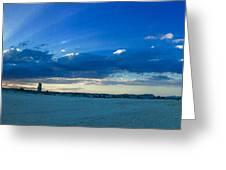 Sands Of Currumbin Greeting Card