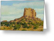 Sandstone Butte Navajo Country Greeting Card