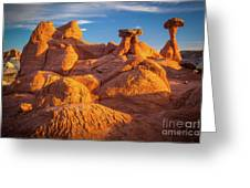 Sandstone Castle Greeting Card