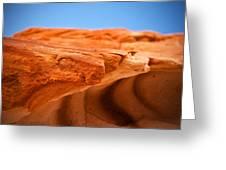 Sandstone Edge Greeting Card