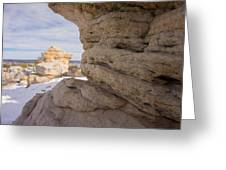 Sandstone Layers Greeting Card