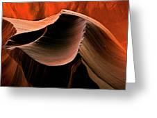 Sandstone Melody Greeting Card by Mike  Dawson