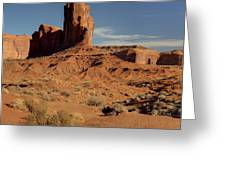 Sandstone Monument Greeting Card