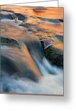 Sandstone Reflections Greeting Card by Mike  Dawson