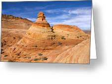 Sandstone Tent Rock Greeting Card