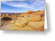 Sandstone Wonders Greeting Card