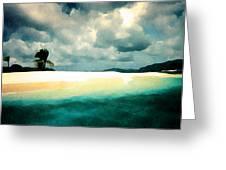 Sandy Cay Greeting Card