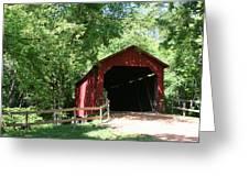 Sandy Creek Bridge Greeting Card