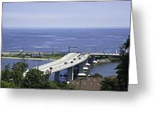 Sandy Hook Bridge Greeting Card
