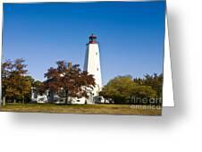 Sandy Hook Lighthouse Greeting Card