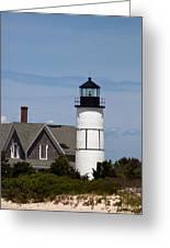 Sandy Neck Light  Barnstable Cape Cod Massachusetts Greeting Card