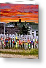Sandy Neck Sunset Greeting Card