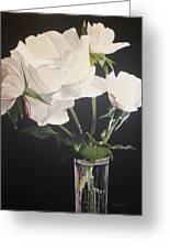 Sandys Roses Greeting Card