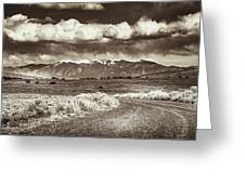 Sangre De Cristo Mountains Greeting Card