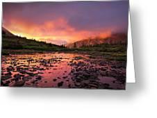 Sangre De Cristo Sunrise Greeting Card