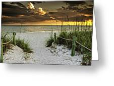 Sanibel Island Beach Access Greeting Card
