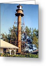 Sanibel Island Light Greeting Card