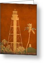 Sanibel Island Lighthouse Greeting Card
