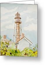 Sanibel Lighthouse 2 Greeting Card