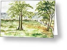 Sanibel Shores Sketch Greeting Card