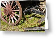 Sanibel Village Wagon Wheels Greeting Card