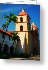Sannta Barbara Mission Greeting Card