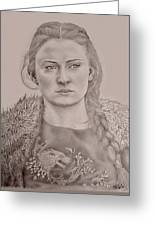 Sansa Stark Greeting Card