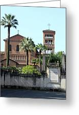 Sant Anselmo Church Greeting Card