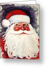 Santa 1 Greeting Card