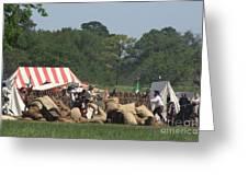 Santa Anna's Camp Greeting Card