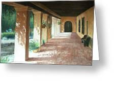 Santa Barbara Mission - The Niche Greeting Card